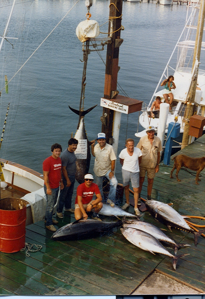 Fishing for tuna blue water sport fishing charters for Fishing boats long island